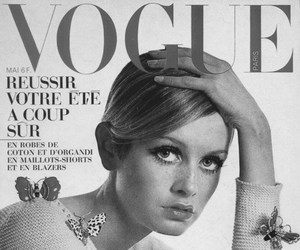 twiggy, vogue, and model image