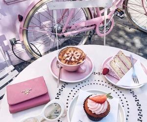food, pink, and theme image