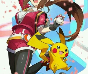fanart, pokemon, and pokemon trainer image