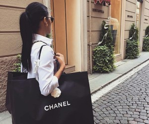 chanel, girl, and beautiful image