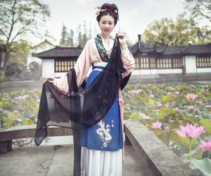 china, chinese, and dress image