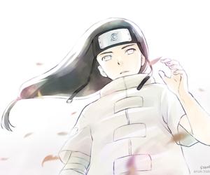 anime, naruto, and neji hyuga image