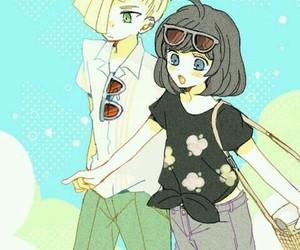 fanart, pokemon, and anime couple image