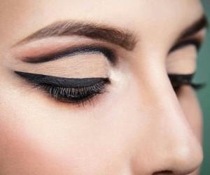 belleza, mirada, and moda image
