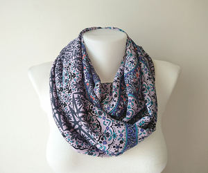 etsy, fashion accessories, and loop scarf image