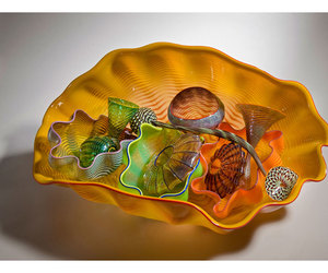 art glass, chihuly, and bowls image