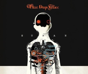 human, three days grace, and music image
