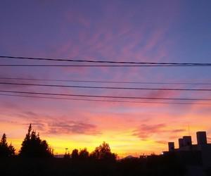 photography, sky, and sunrise image
