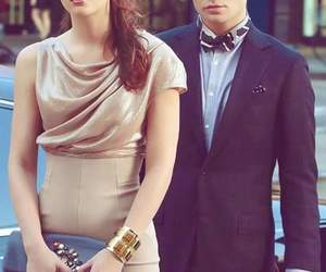 gossip girl, chuck bass, and leighton meester image