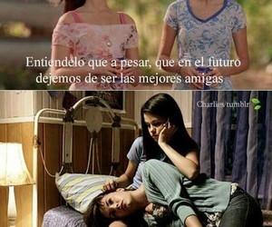 frases, girls, and friends image