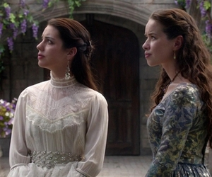 girls, vintage, and medieval image