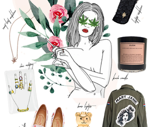 Collage, fashion blogger, and mary jane image