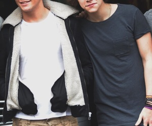 louis, larry, and Harry Styles image