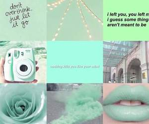 colors, green, and mint image