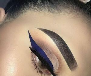 chic, eye, and eyeliner image