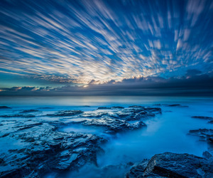 blue, coast, and ocean image