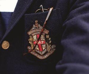 blazer, boarding school, and jacket image
