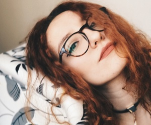 beauty, ginger, and girl image