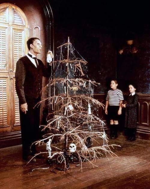 addams family, christmas, and wednesday image