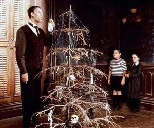 addams family, christmas, and wednesday image