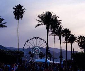 coachella, california, and ferris wheel image