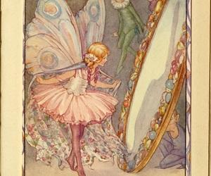 book illustration, Fairies, and fairy image