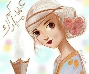 eid mubarak, عيد سعيد, and عيد مبارك image