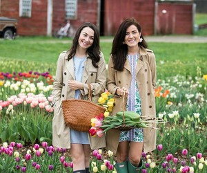 fashion, tulips, and preppy image