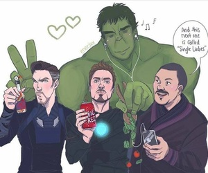 Hulk, Marvel, and robert downey jr image