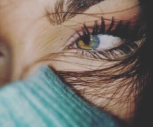 eyes, hair, and beauty image