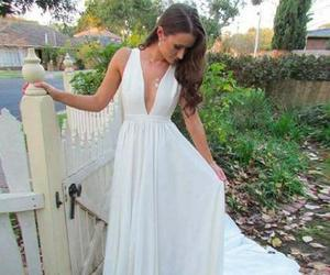 prom dresses and white prom dress image