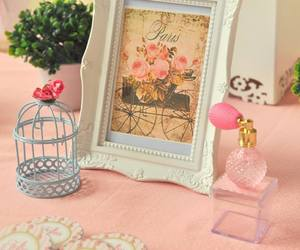decor, paris, and pink image