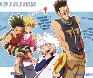 killua, kurapika, and leorio image