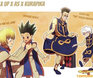 killua, kurapika, and leorio image