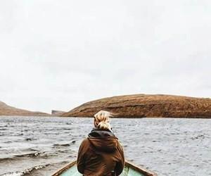 sea, traveling, and سَفَر image