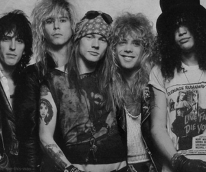 Guns N Roses, rock, and slash image