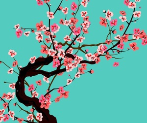 aesthetics, cherry blossom, and pink image