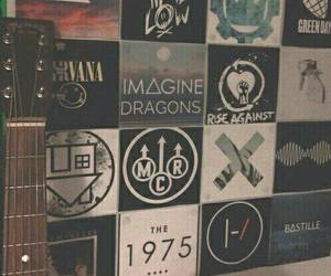 my chemical romance, nirvana, and the 1975 image