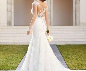 wedding dresses, wedding, and wedding gowns image