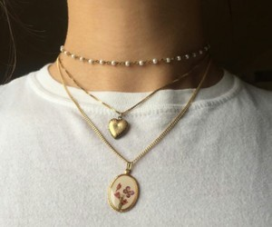 necklace, style, and tumblr image