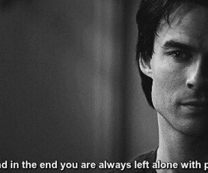 pain, quote, and damon image