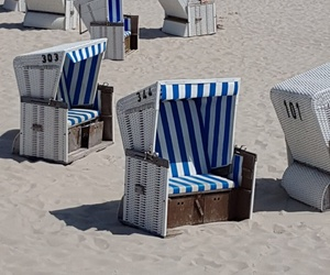 beach, holiday, and nordsee image