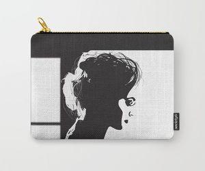 artwork, bag, and profile image