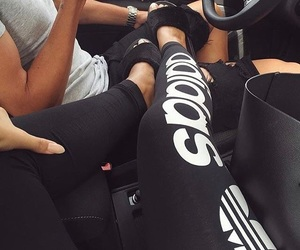 couple, adidas, and boy image