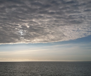 cloud, nature, and sea image