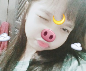 aesthetic, ulzzang asian, and cute image