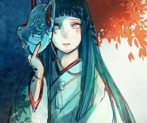 hinata, anime, and naruto image