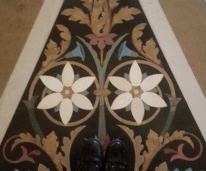 art, floor, and old image