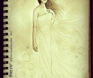 art, luna, and draw image