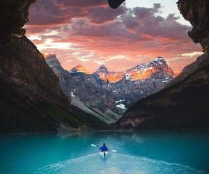 mountains, heart, and amazing image